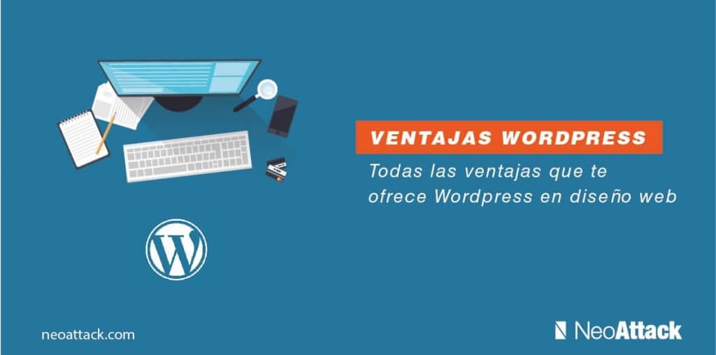 ventajas wordpress diseño