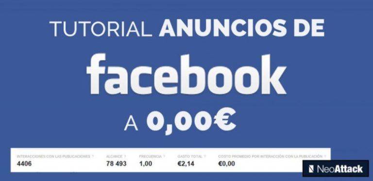 tutorial anuncios facebook