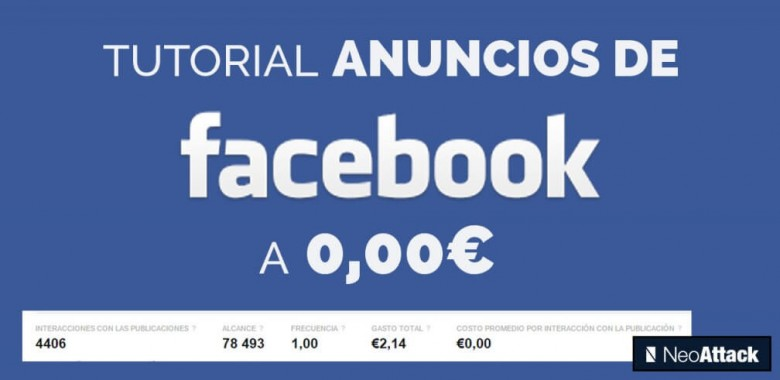 tutorial anuncios facebook