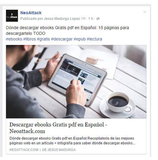 página de facebook para empresa