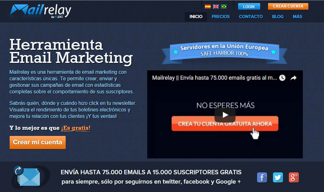 email marketing mailrelay 2016