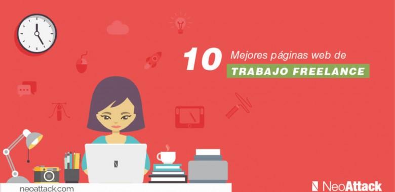 TOP 10 Páginas webs de trabajo freelance
