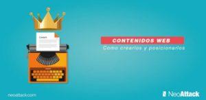 Contenidos web: cómo crearlos y posicionarlos