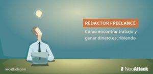 Redactor Freelance: Como encontrar trabajo y ganar dinero escribiendo