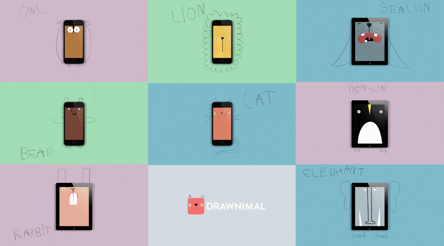 Drawnimal app divertida