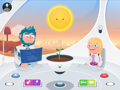 Tiny Cosmonauts dos aplicaciones educativas para niños