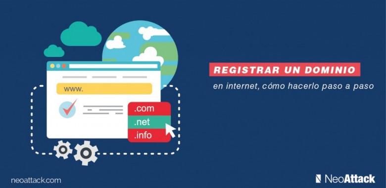 como registrar un dominio en internet