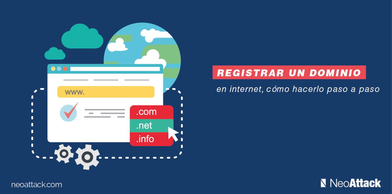 como registrar un dominio en internet