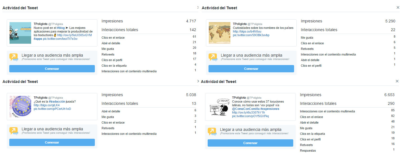 tweets Poliglota