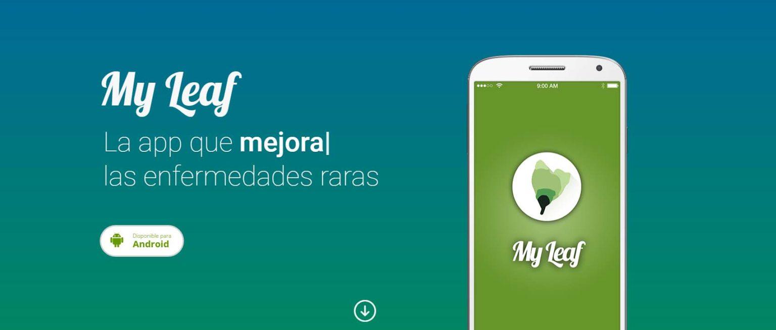 app de salud my leaf