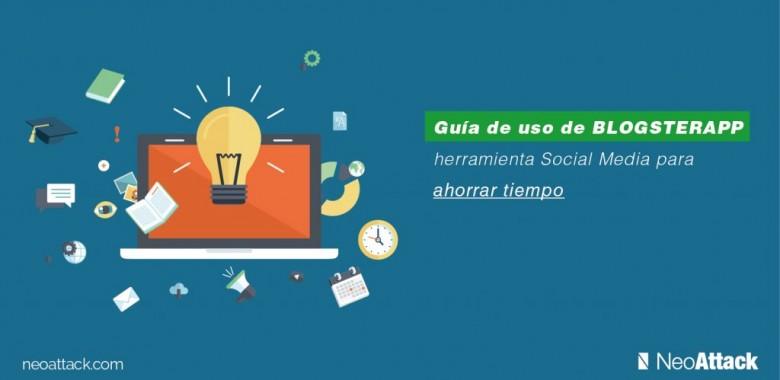 Guía de uso de BlogsterApp, herramienta social media para ahorrar tiempo