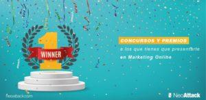 Concursos y premios a los que tienes que presentarte en marketing online