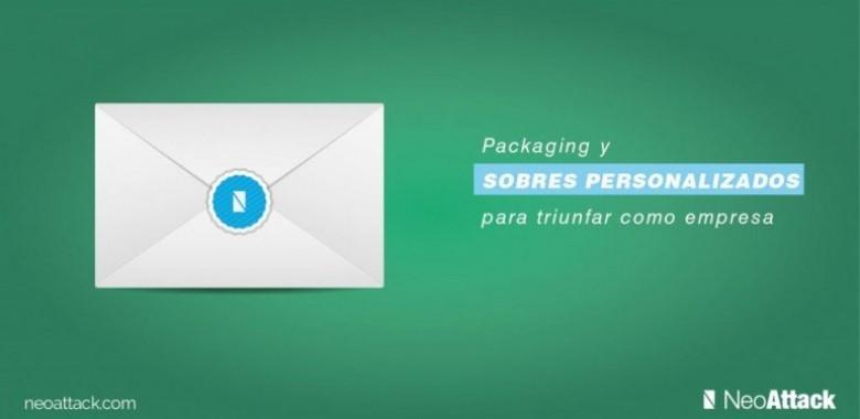 Packaging y sobres personalizados para triunfar con tu empresa
