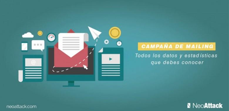 Campaña de mailing: todos los datos y estadísticas que debes conocer