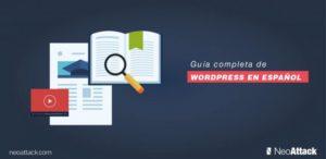 Guía completa de uso de WordPress en español