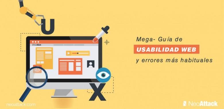 Guía de usabilidad web y errores más habituales