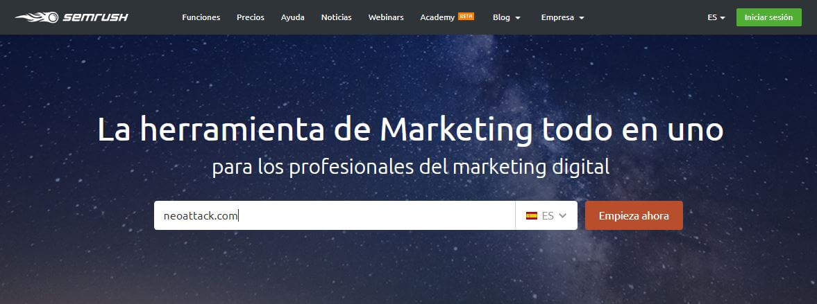 home semrush