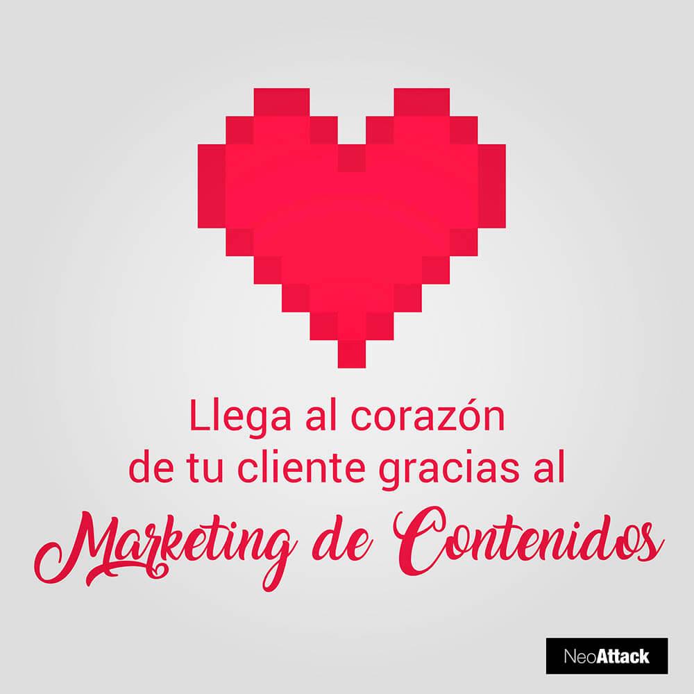 marketing de contenidos corazón