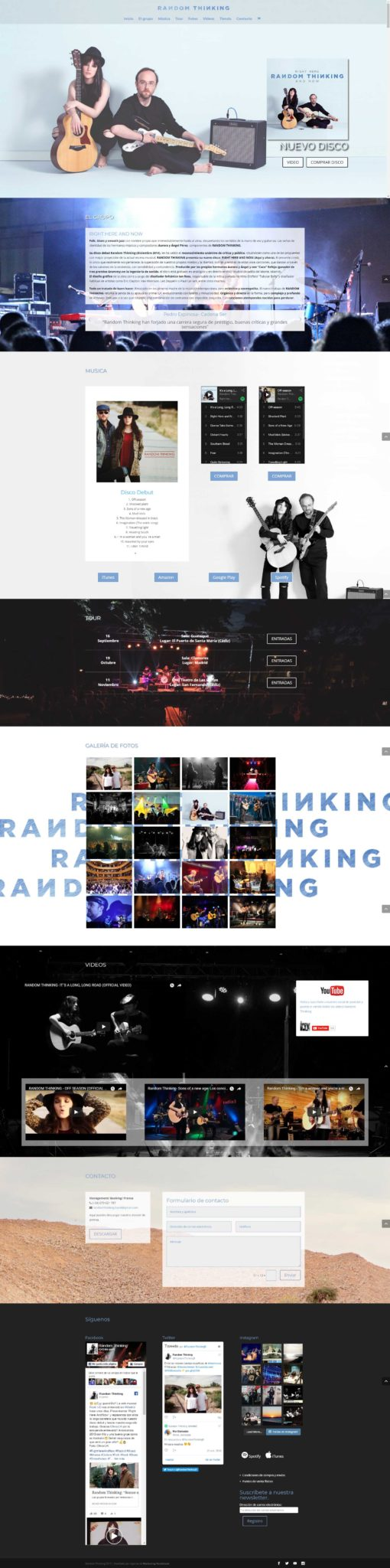 random-thinking proyecto de diseño de neoattack
