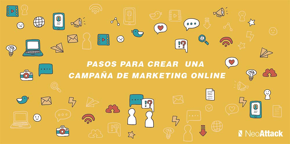 Pasos campaña de marketing