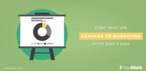 ¿Cómo hacer una campaña de marketing online paso a paso?