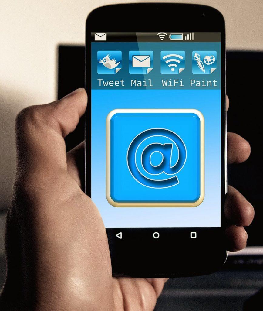 email móvil