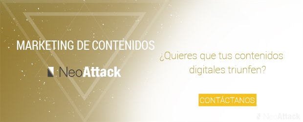 Banner NeoAttack Marketing de Contenidos