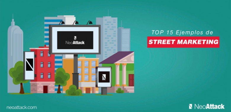 TOP 15 ➨ Ejemplos Street Marketing hasta 2020