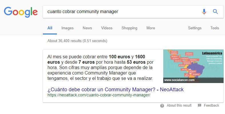 Posición 0 Google NeoAttack