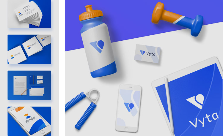 Identidad visual de la App Vyta