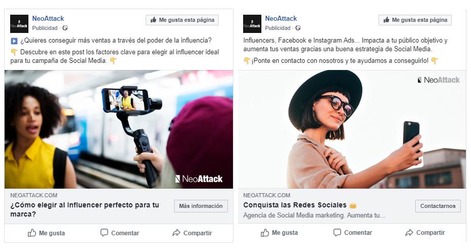 anuncios de facebook efectivos