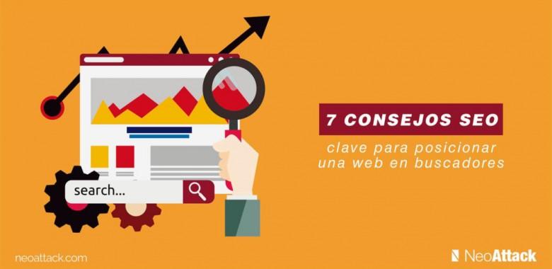 7 consejos SEO clave para posicionar una web en buscadores