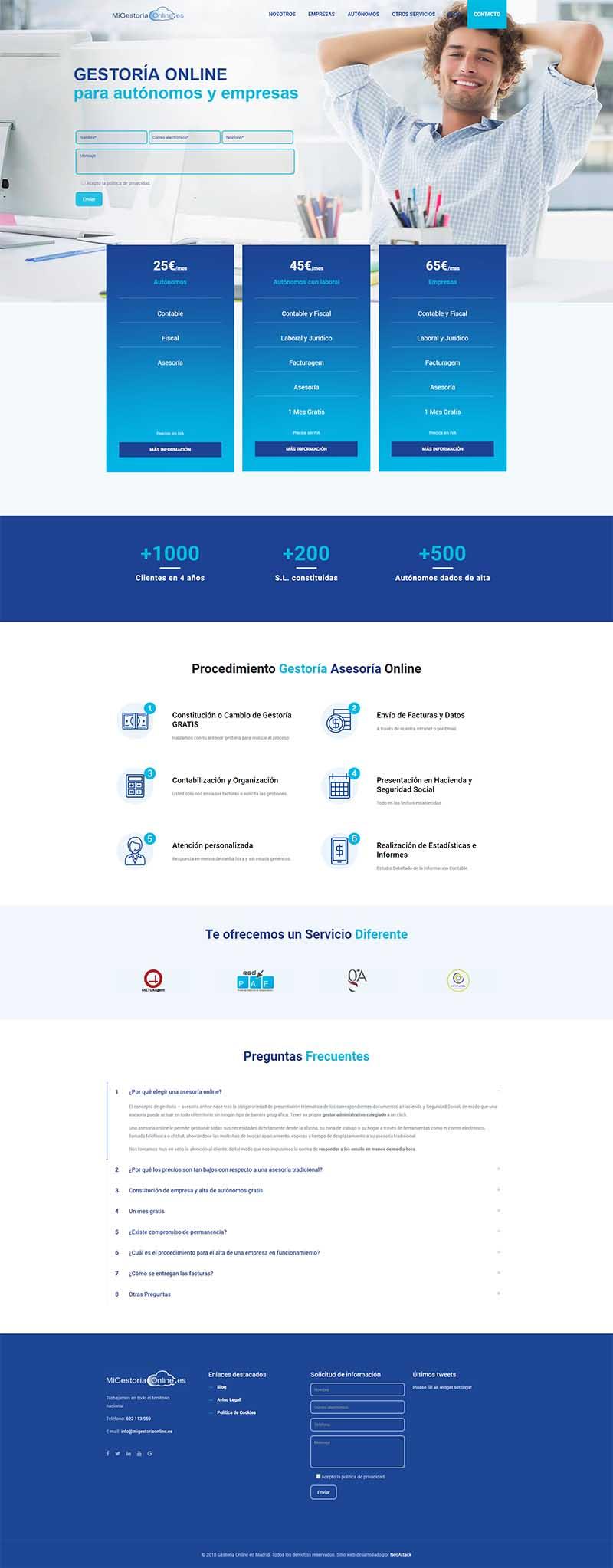Proyecto Mi gestoria online