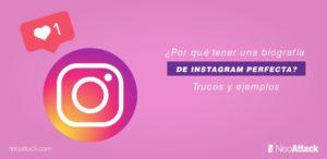 ¿Por qué tener una biografía de Instagram perfecta? Trucos y ejemplos