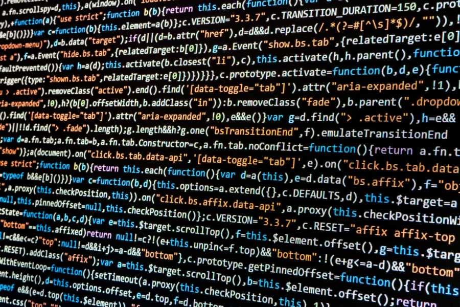 Código creación página web