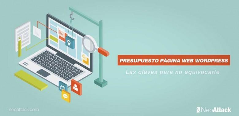 Presupuesto página web WordPress: las claves para no equivocarte