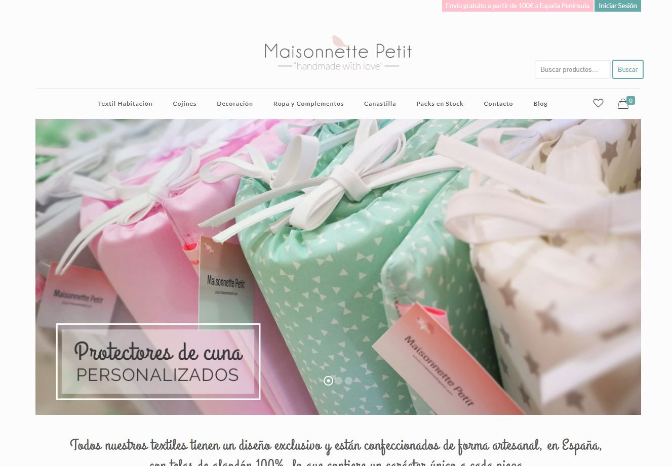 WordPress tienda online bebes