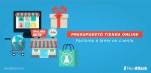 Presupuesto de una tienda online → Aspectos a tener en cuenta ✍️
