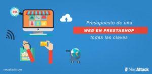 Presupuesto de una página web en prestashop: todas las claves