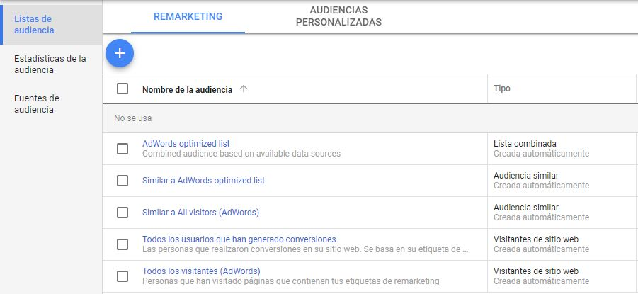 remarketing en ads