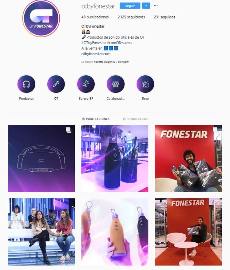 Otbyfonestar Feed Instagram