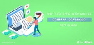 Todo lo que debes saber antes de comprar contenido para tu web