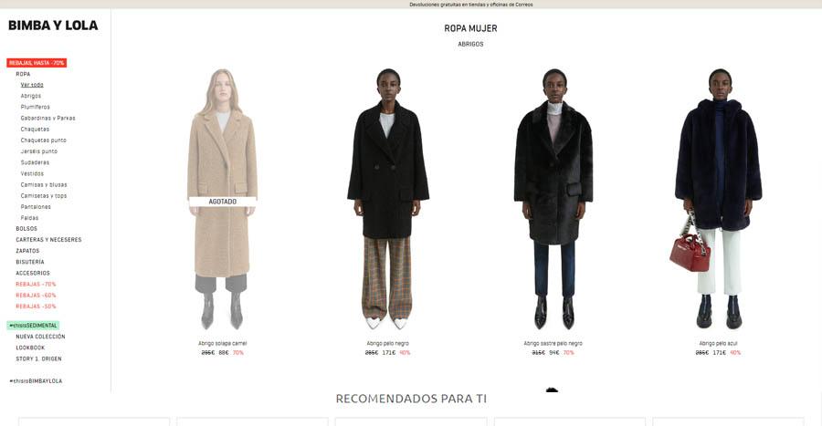 Tienda online de moda magento