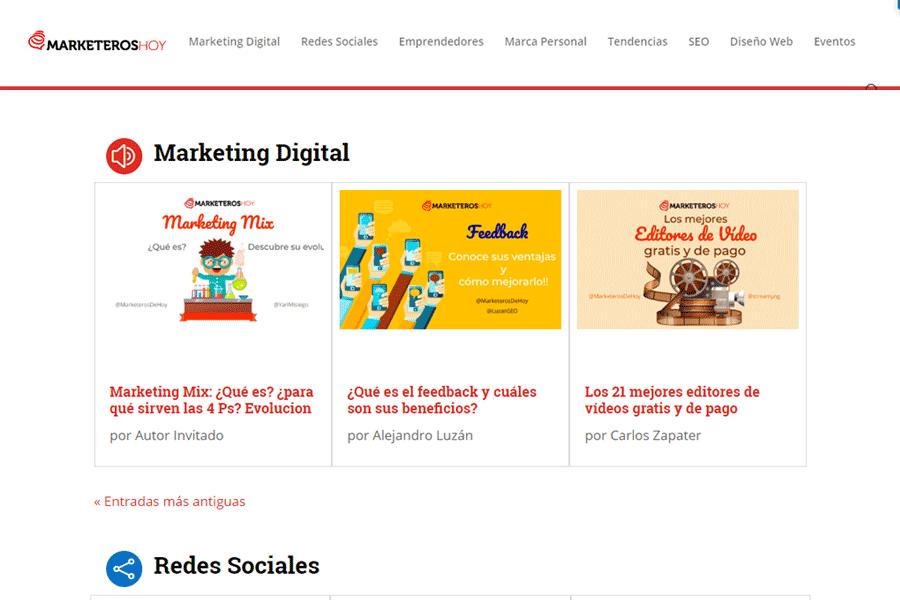 información sobre marketing