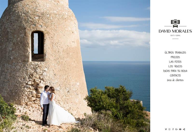 pagina web fotografo de bodas