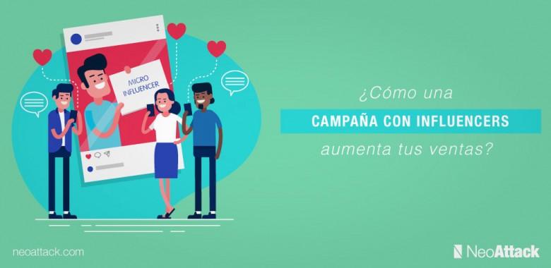 campaña con influencers