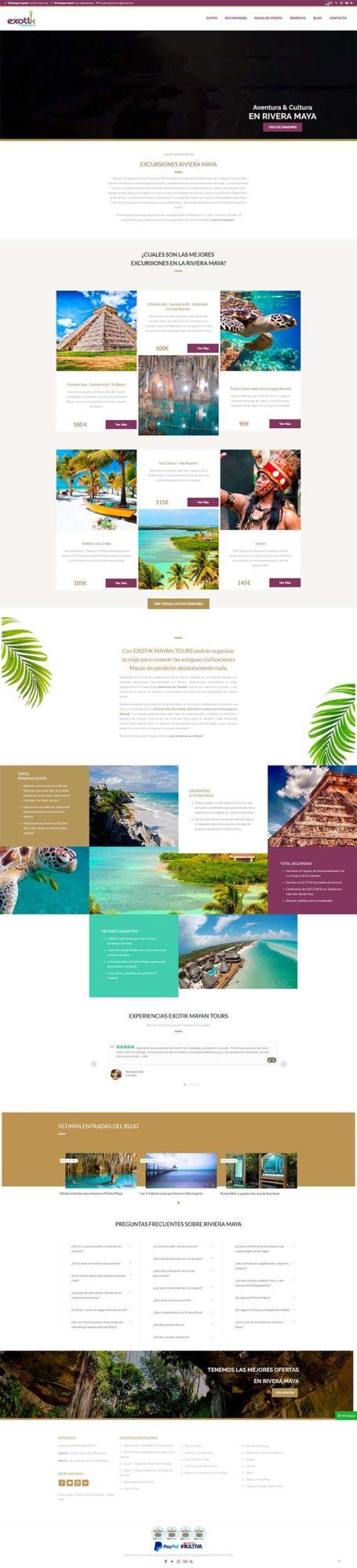 Web riviera maya