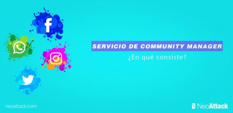 ¿En qué consiste el Servicio de Community Manager?