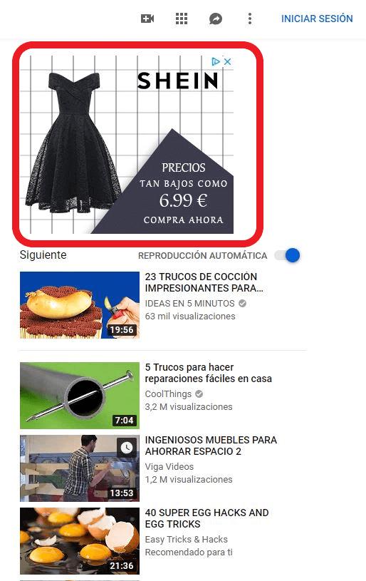 campañas de youtube ads