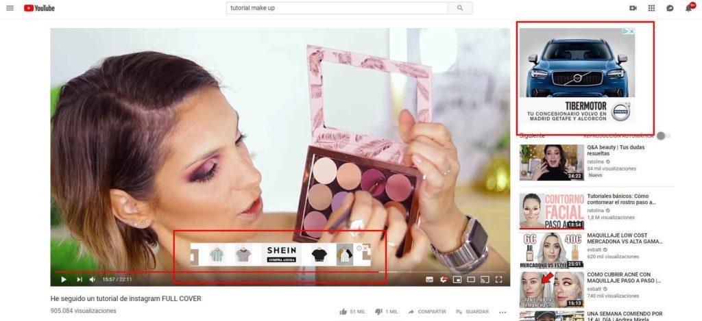 Ejemplo de anuncios Display